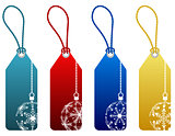 christmas sale tags