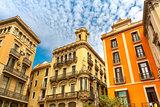 Placita de la Boqueria in Barcelona, Catalonia, Spain