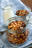 Homemade toasted granola