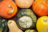 winter squash background