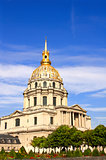 Les Invalides - complex of museums and tomb of Napoleon Bonapart