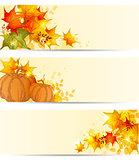 Autumn horizontal backgrounds