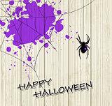 Spider and violet blots