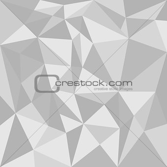 Grey triangle vector background