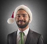 Santa claus businessperson