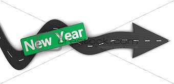 to new year