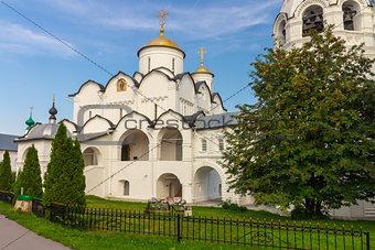 Monastery in Suzdal. Russia.