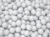 Golf ball background. Sport concept