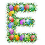 Easter letter - E