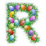 Easter letter - R