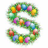Easter letter - S