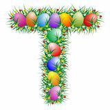 Easter letter - T