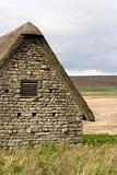 Buildings at Grimwith reservoir