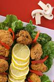southern fried alligator fritters