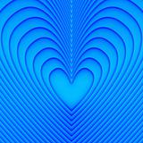 Blue heart background