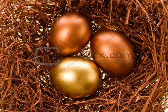Celebratory eggs