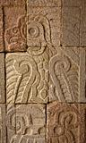 Wall Ancient Indian Ruins Teotihuacan Mexico