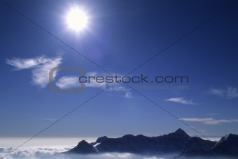 Backlite mountain view