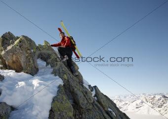 Winter climber