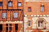 Medieval houses in Albi France