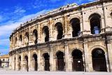 Roman arena in Nimes France