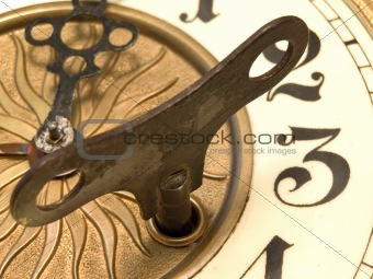 Close up clock