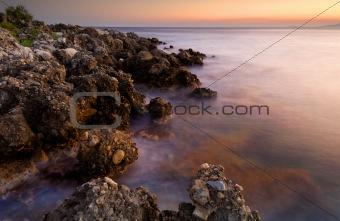 Serene seascape