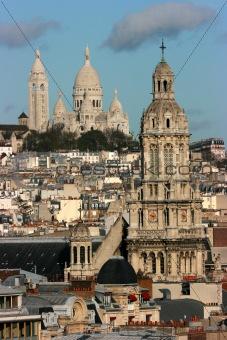 Churches in Paris