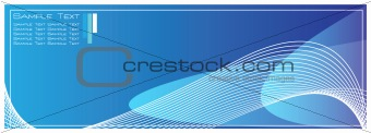 High Quality Blue Template Abstract Background