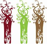 Interesting Ornate Tree Design Elements
