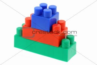 tower of colorful building blocks