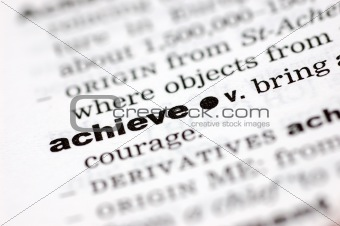 Definition of achieve