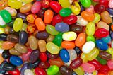 Multi color jelly beans