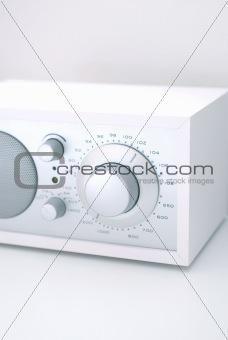 Modern radio set with retro design