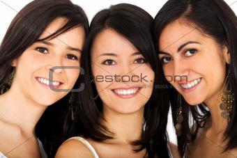 happy friends faces