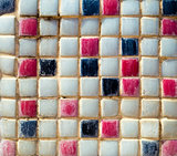 Mosaic colorful tiles for background
