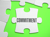 Commitment - Jigsaw Puzzle with Missing Pieces.