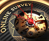 Online Survey on Black-Golden Watch Face.