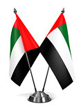 United Arab Emirates - Miniature Flags.