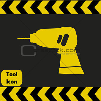Power drill icon