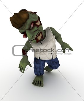 Cartoon Zombie Character