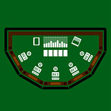 Poker Table Icon