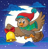 Christmas owl theme image 2