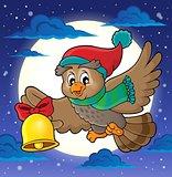 Christmas owl theme image 2