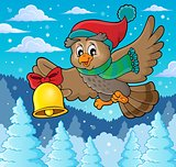 Christmas owl theme image 3