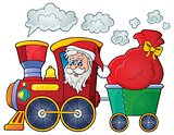 Christmas train theme image 1