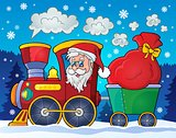 Christmas train theme image 2