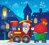 Christmas train theme image 3