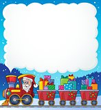 Christmas train theme image 6