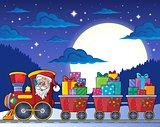 Christmas train theme image 7